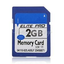 NEW 2GB SD 2G SD Flash Secure Digital Memory Card for Camera Phone High Speed