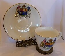 Antique Aynsley Diamond Jubilee Confederation Canada Cabinet Cup Saucer 1867-27