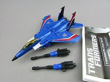 Transformers Generations Thundercracker Complete Deluxe Classics Plane Hasbro