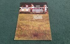 October 1972 / 1973 FIAT 128 SPORT COUPE 1100 SL & 1300 SL - UK BROCHURE