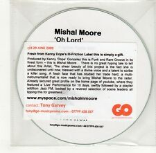 (GO273) Mishal Moore, Oh Lord - DJ CD