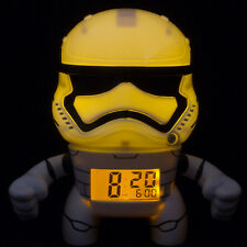 OFFICIAL BULBBOTZ STAR WARS STORMTROOPER ALARM CLOCK BRAND NEW AND BOXED