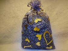 FRENCH LAVENDER BUDS  Sachet Bag Very Fragrant 1 FULL OZ 4x6 Organza  Free Ship