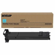 Original DEVELOP A0DK4D3 Tn-318C INEO+20 TONER CARTRIDGE CYAN A-Ware