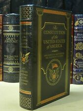 THE CONSTITUTION of USA & Selected Writings of FOUNDING FATHERS Leather & NEW!!!