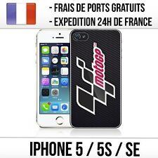 Coque iPhone 5 / 5S / SE - Moto GP logo