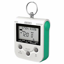Genuine SEIKO Compact Metronome DM90 (Green) NEW! Ships Fast! Retails for $50