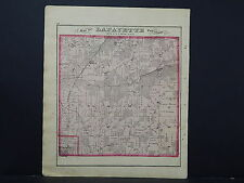 Wisconsin, Walworth County Map, 1873, Lafayette Township M4#46