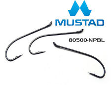 PACK of 1000x Size 1/0  Mustad Fly Tying Hooks for Salmon Steelhead Pike (65166)