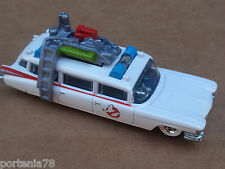 2013 Hot Wheels Retro Entertainment GHOSTBUSTERS ECTO-1 Loose WHITE
