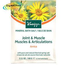 Kneipp Bath Salts Sachet ARNICA Bath Crystals Joint & Muscle 60g
