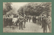 C1910'S PC WEETON FAIR, YORKSHIRE, CATTLE, LOTS OF PEOPLE