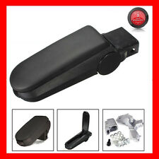 Black Leather ARMREST STORAGE BOX For VW Jetta Golf Bora MK4 99-04 Passat B5