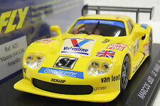 FLY A21 MARCOS LM600 LE MANS 1996 NEW 1/32 SLOT CAR IN DISPLAY CASE