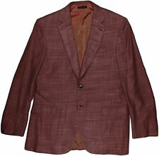 "BRIONI MEN'S ""SECOLO 22"" WINE COLOR JACKET- 48R/38R US- MADE IN ITALY"