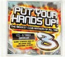 (GT684) Put Your Hands Up Sampler - 2007 DJ CD