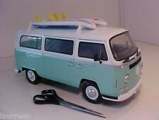 BIG Bus Volkswagen Camper T2 1976 Dickie 1/14 Plastic Friction All Parts Opening
