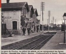 1995  --  LA GARE DE DOULON  AU DEBUT DU SIECLE   3A007
