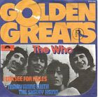 """THE WHO I Can See For Miles PICTURE SLEEVE 7"""" 45 rpm record BRAND NEW RARE!"""