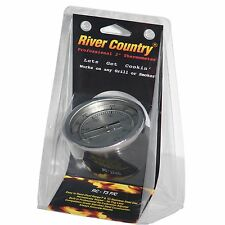 "3"" RIVER COUNTRY RC-T3FC BBQ CHARCOAL GAS ELECTRIC GRILL SMOKER PIT THERMOMETER"
