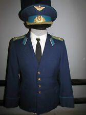 Russian soviet parade uniform llieutenant colonel of military air forces USSR