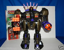 "Vintage '80's CYBER POWER ROBOT WARRIOR Giant 18"" Lights/Sounds/Fires Ammo WORKS"