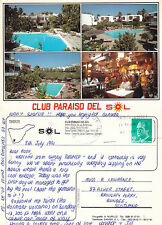 1991 CLUB PARAISO DEL SOL TENERIFE SPAIN COLOUR POSTCARD