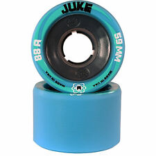 Atom Juke Nylon Roller Derby Skate Wheels Pack Of 8 New - 88A  - 59mm x 38mm