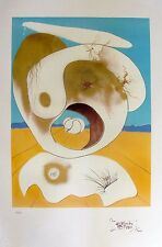 Salvador Dali SCATALOGICAL AND PLANETARY VISION Signed Limited Editon Lithograph