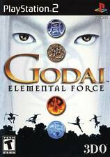 Godai: Elemental Force PS2 New Playstation 2
