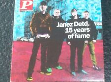 JANEZ DETD. - 15 YEARS OF FAME (2009 - Cardsleeve) Take on me, Mala vida, Deep..