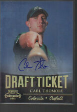 CARL THOMAS 2011 PLAYOFF CONTENDERS ROOKIE AUTO
