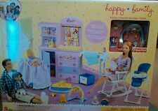 BARBIE HAPPY FAMILY BABY NURSERY PLAYSET FOR KRISSY RETIRED SERIES