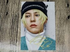 BIGBANG G-Dragon Autographed Photo MADE FULL new Korea  freeship 12.2016 02