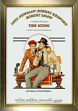 MAGNET Movie Poster Photo Magnet THE STING 1973 Paul Newman Robert Redford Drama