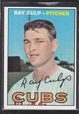 1967  RAY CULP - Topps Baseball Card # 168 - Chicago Cubs - Vintage