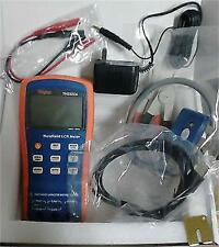 Handheld LCR Inductance Capacitance QZD ESR DEG Meter Test 100-10KHz USB TH2822A