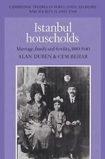 Istanbul Households: Marriage, Family and Fertility, 1880-1940 (Cambridge Stud..
