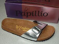 BIRKENSTOCK'S PAPILLIO MADRID LEATHER SANDALS  WOMEN  SIZE 11 REG  EURO 42  NEW