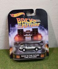 MATTEL HOT WHEELS 1:64th SCALE BACK TO THE FUTURE Time Machine