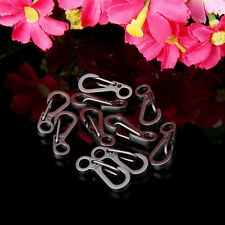10PCS Mini Carabiner Keychain Mountaineering Spring Tactical Survival Equipment