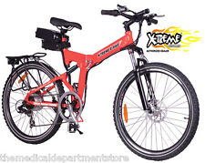 NEW!! 2016 X-Treme X-Cursion Folding Electric Bike - Lithium Powered - Red