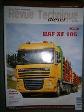 DAF XF 105 - 300 340 375 ch : revue technique RTD 281