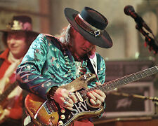 Stevie Ray Vaughan in Concert, 8x10 Color Photo