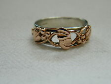 Clogau Silver & Welsh Gold Tree of Life Ring size N RRP £310.00