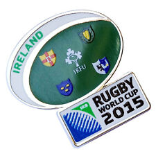 Rugby World Cup 2015 Ireland Flag Pin