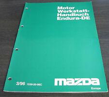 Werkstatthandbuch Mazda 121 Motor Endura-DE JASM JBSM Stand 03/1996