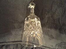 Crystal Tudor Glass  Bell