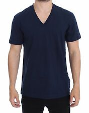 NWT DOLCE & GABBANA D&G Underwear Blue Cotton Short Sleeve T-shirt IT5 / US M