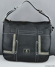 NWT Handbag GUESS Road Trip Shoulder Bag Black